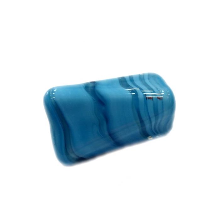 Facetado de murano GG azul turquesa - MU516