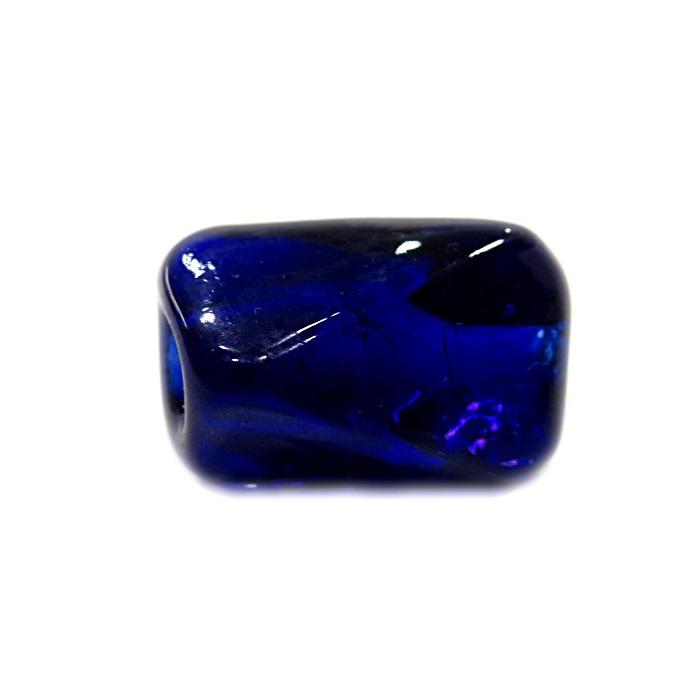 Facetado de murano G azulão- MU535