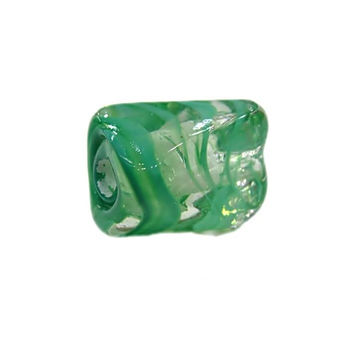 Facetado de murano M verde- MU584