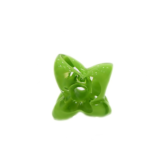 Estrela de murano verde pistache- MU591
