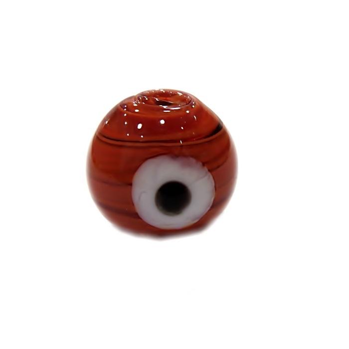 Olho grego M marrom- OG069