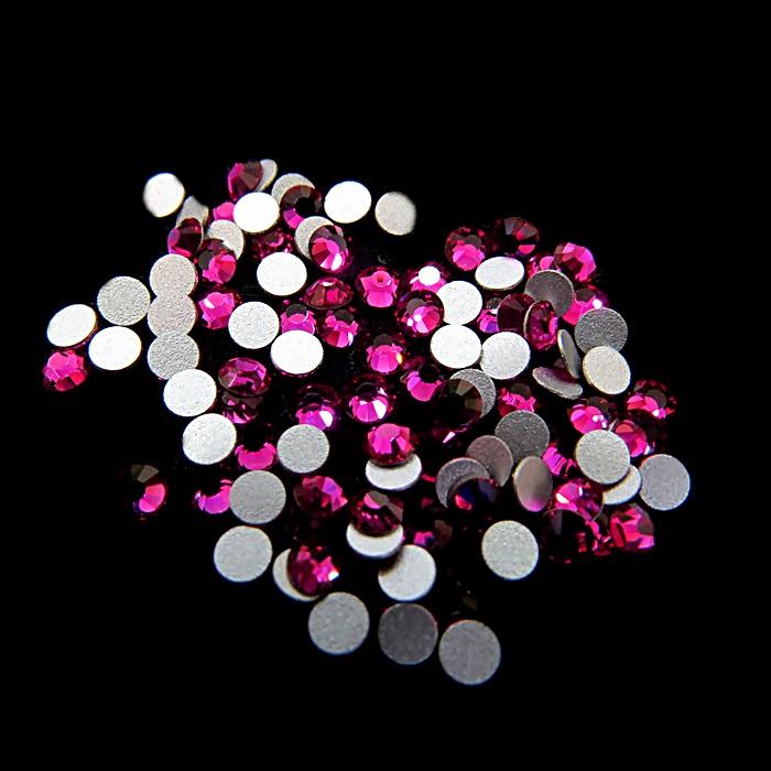 Chaton de cristal Fucsia SS12 (20 unidades)- CCH004