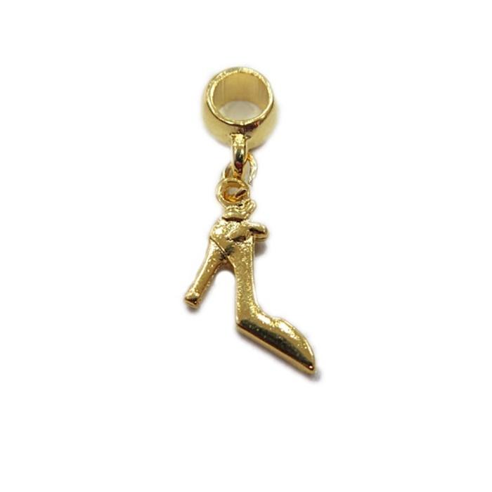 Berloque Dourado Scarpin BED030