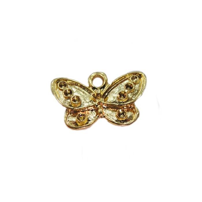 Pingente Borboleta dourado- PTD022