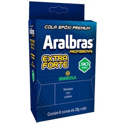 Cola Aralbras Profissional 90 min ( Araldite) - CL004