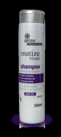 Shampoo Matizador Girass 320ml
