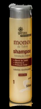 Shampoo Nutricao Monoi Girass 320ml