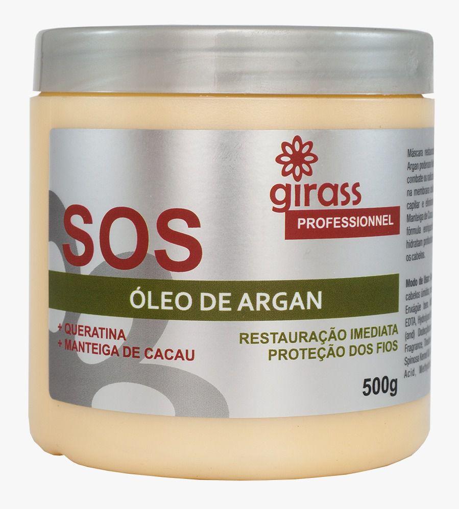 SOS Argan Oil Girass 500g
