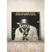 LP Dizzy Gillespie Octet The Greatest Trumpet Of Them All with 1 Bonus Track