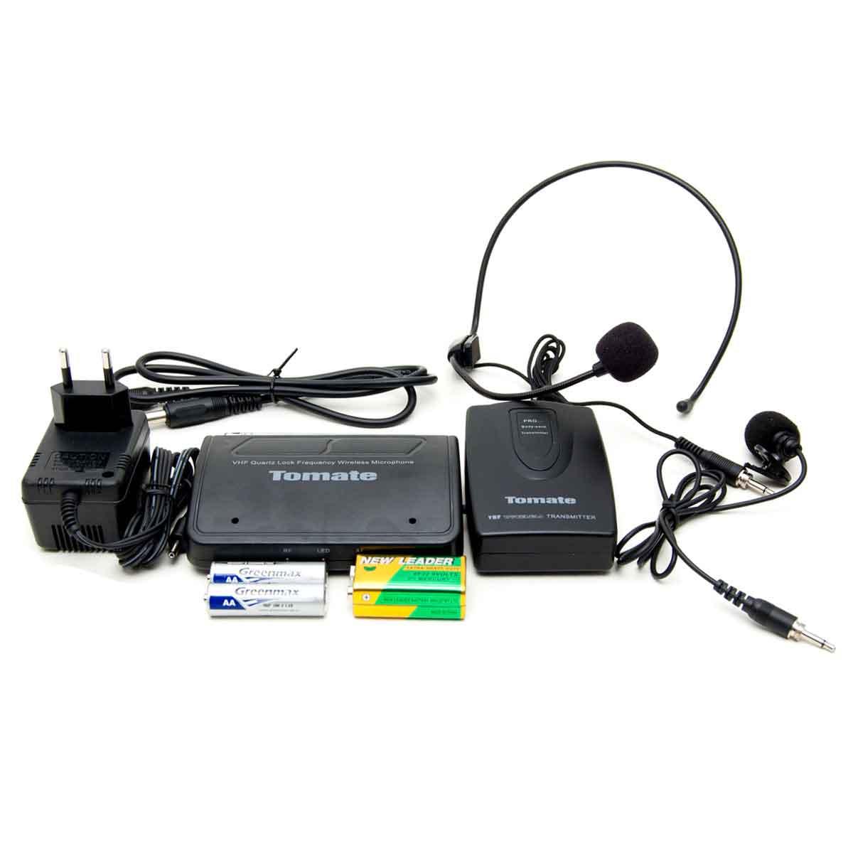 Microfone Lapela Sem Fio Profissional Wireless 50 mt Headset