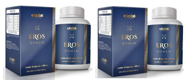 Eros Homem | Original | Estimulante Sexual Masc | 02 Potes - 20% OFF  - LA Nature
