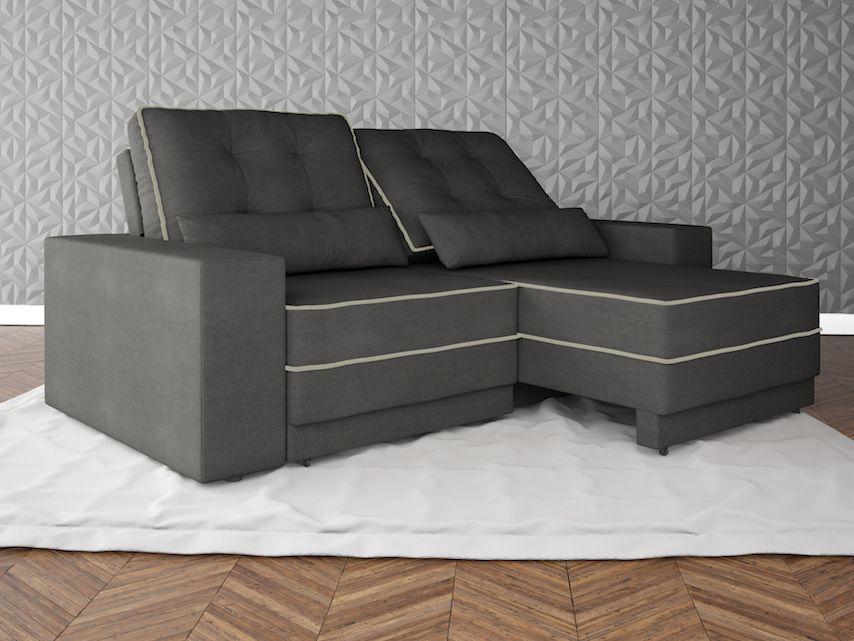 Netsof s for Sofa 4 lugares retratil e reclinavel