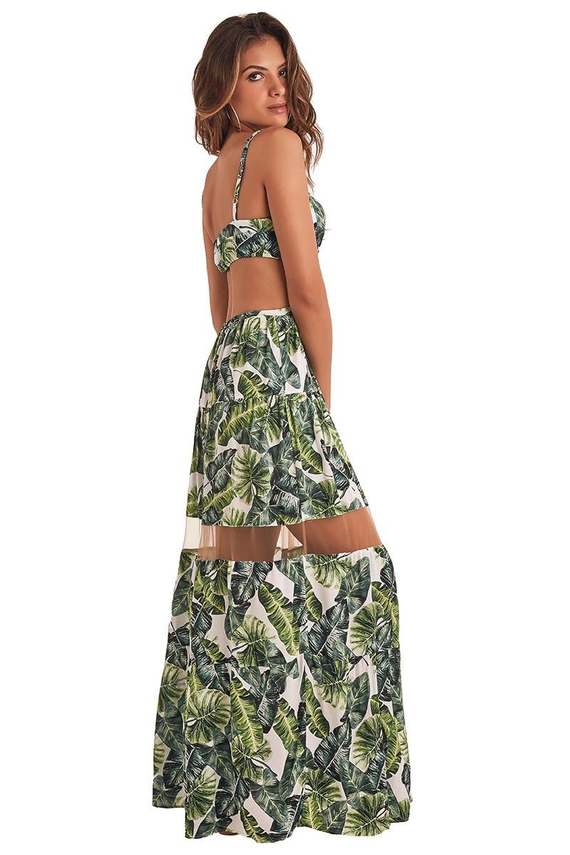 Vestido Gisele II - Folhagem