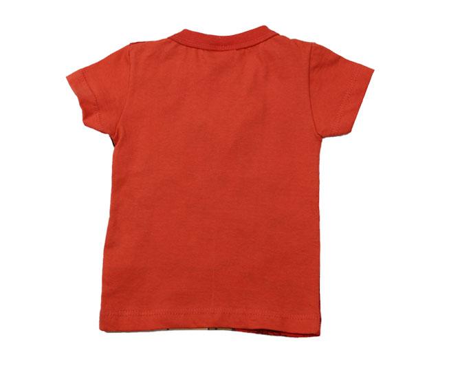 Camiseta Manga Curta Infantil Brandili Vermelha Jerry