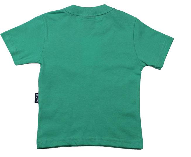 Camiseta Manga Curta Papagaio Verde Kyly