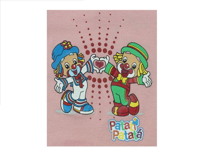 Conjunto Rosa Patati Patata Malwee