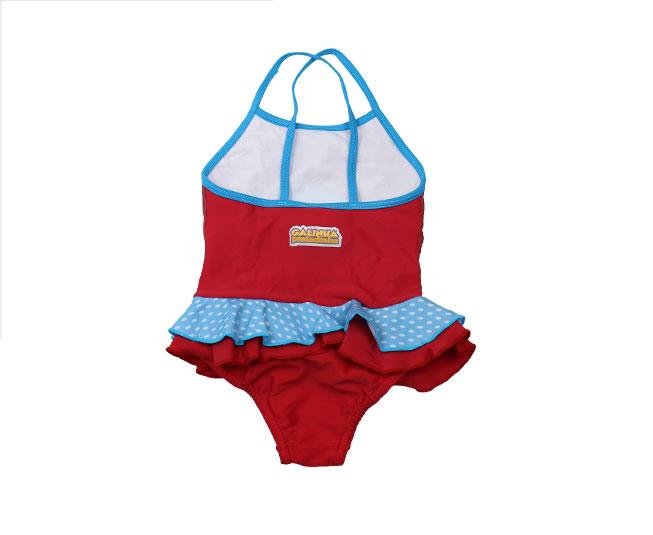 Maiô Infantil Tip Top Galinha Pintadinha Azul / Vermelho Estampado
