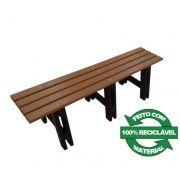 Banco de Madeira Plástica 100% reciclada - Modelo Tarituba - Clace 1 UN