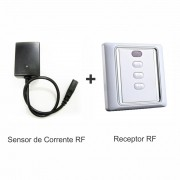 Combo: Sensor de Corrente Sem Fio + Receptor Rádio Frequência - Clace 1 UN
