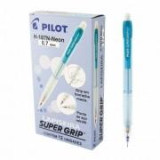 Lapiseira Super Grip Neon 0.7 mm - Pilot CX 12 UN