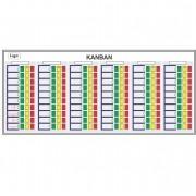 Quadro Kanban com Cartões - Sob Medida