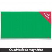 Quadro Verde Quadriculado Magnético Sob Medida - Clace