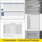 Quadros de Controle de Produção e Heijunka Box - Customizados