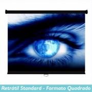 Tela Retrátil Standard no Formato Quadrado - Clace 1 UN