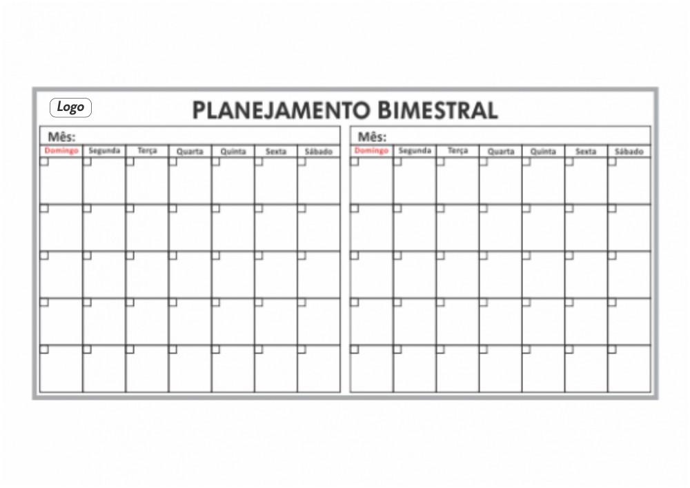 Quadro de Planejamento Bimestral - Clace 1 UN