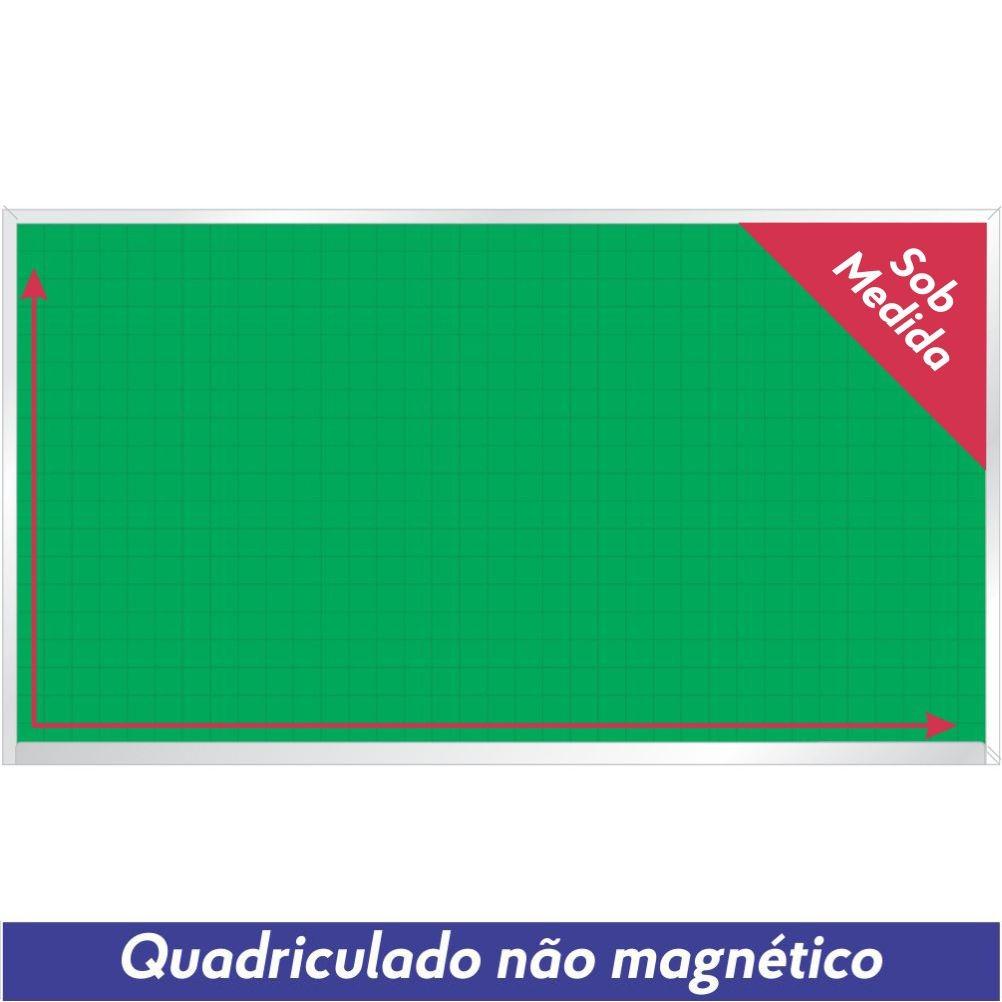 Quadro Verde Quadriculado Não Magnético Sob Medida - Clace