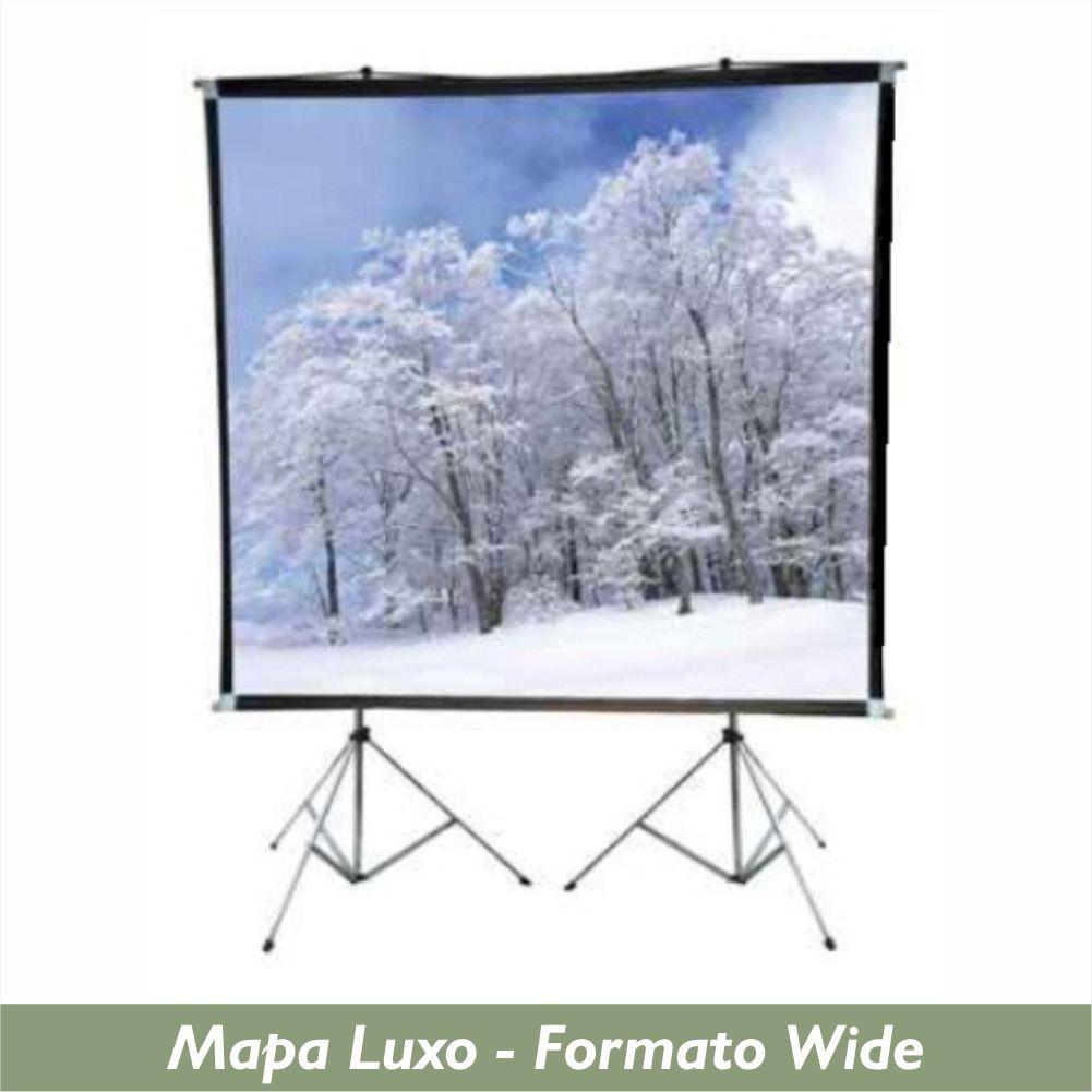Tela Mapa Luxo no Formato Wide 16:10 - Clace 1 UN