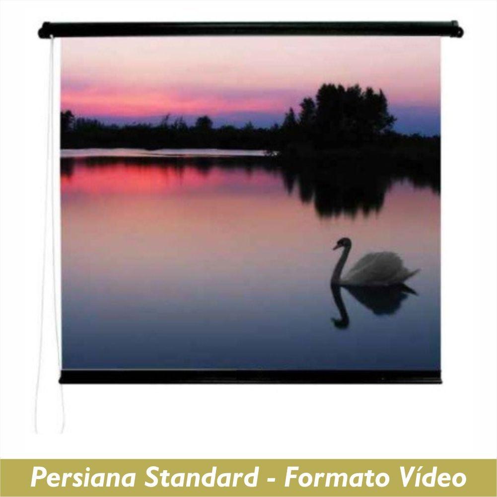 Tela Persiana Standard no Formato Vídeo 4:3 - Clace 1 UN