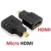 Adaptador HDMI Femea x HDMI Micro Macho
