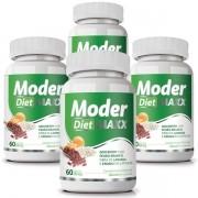 Moder Diet Maxx - Emagrecedor | Original | 500mg - 04 Potes