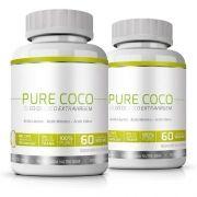 Pure Coco|Óleo de Coco Extra Virgem 100% Puro|Emagrecedor - 02 Potes