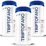 Triptofano - L-Tryptophan 500mg | Ativador de Melatonina - 03 Potes