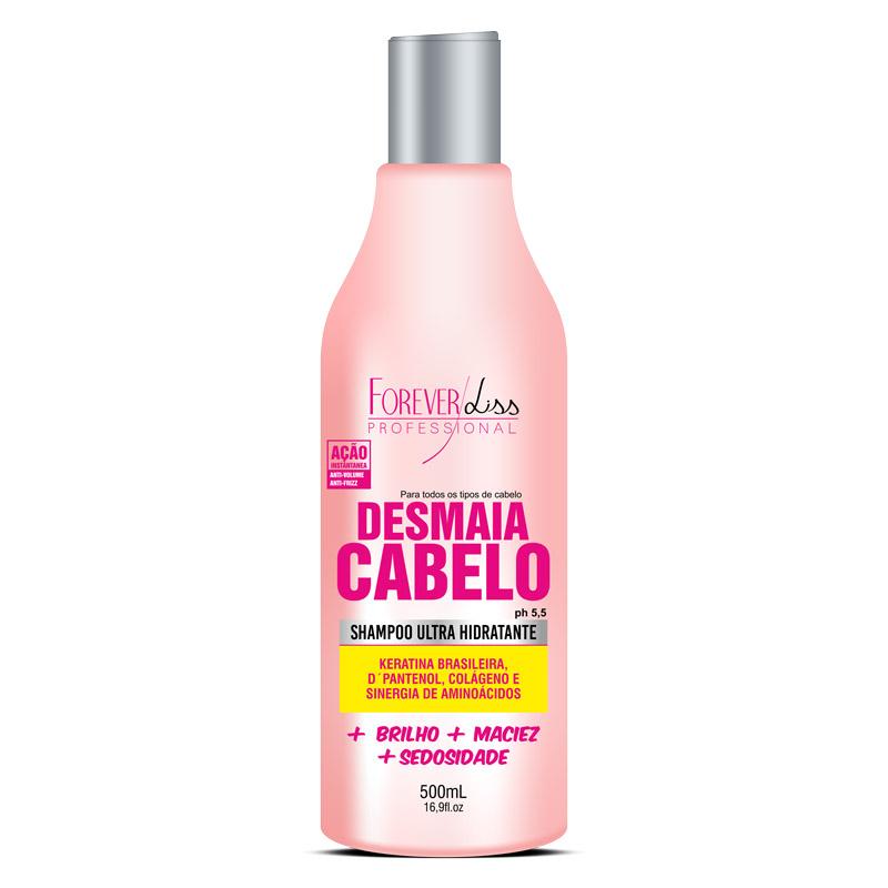 Forever Liss Shampoo Desmaia Cabelo 500ml  - Natural Show - Produtos Naturais, Suplementos e Cosméticos