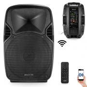 Caixa De Som Ativa Frahm Pw600 Wireless 600w Rms