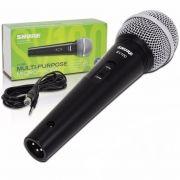 Microfone Shure Profissional Sv100 + Cabo 5m