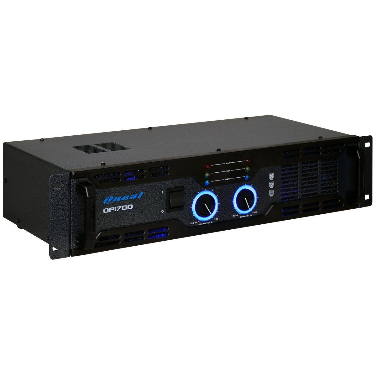 Amplificador De Potencia Oneal Op1700 220W Rms