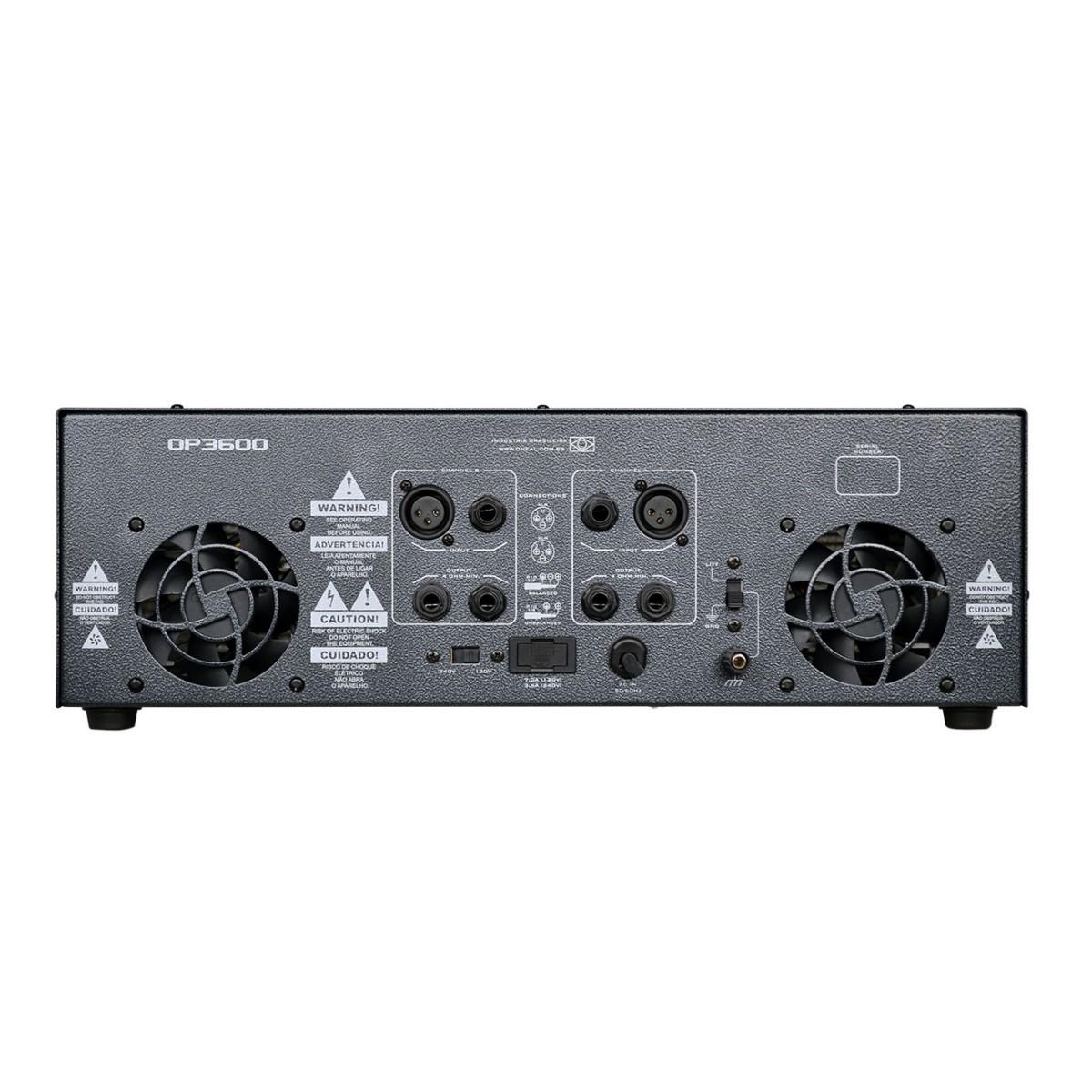 Amplificador De Potencia Oneal Op3600