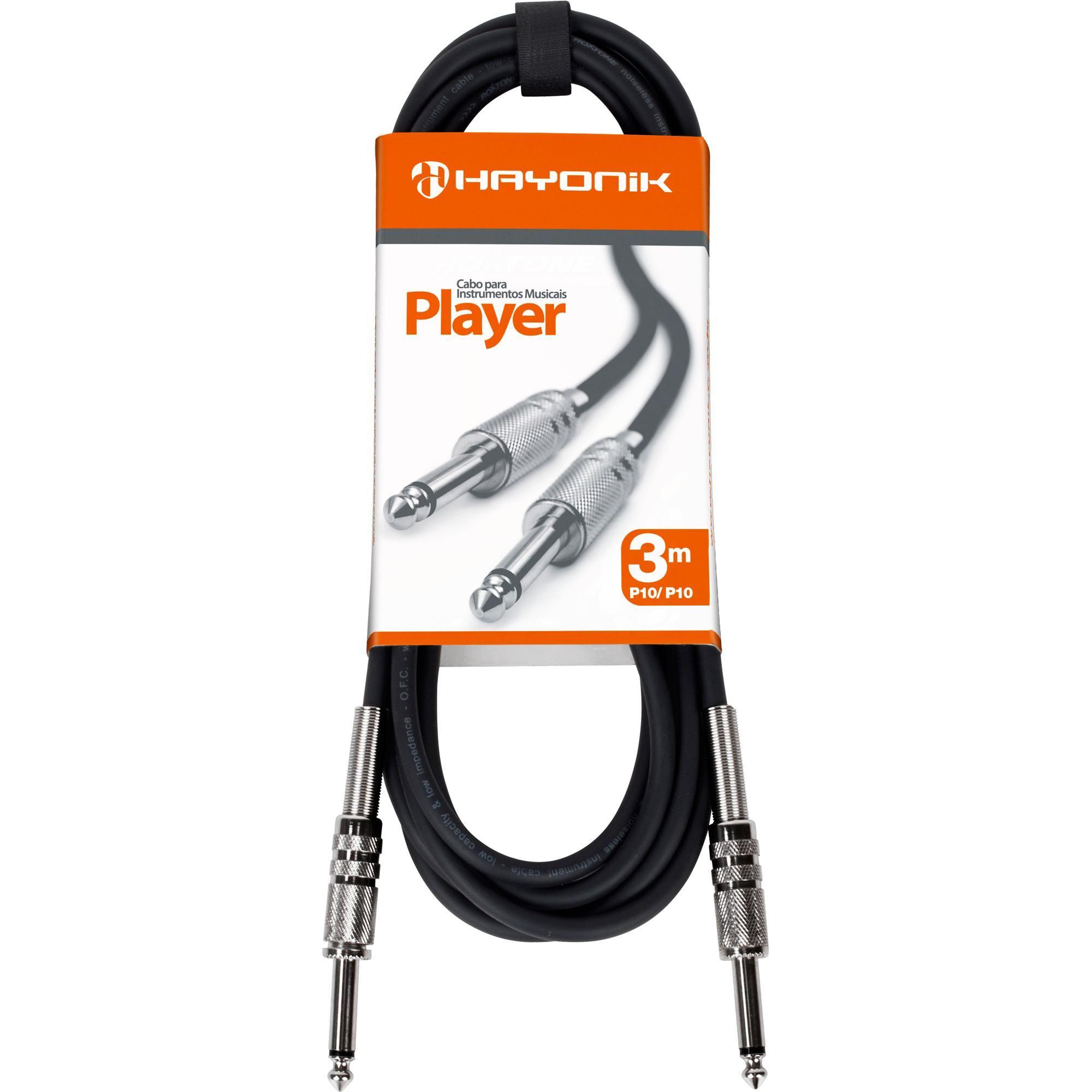 Cabo Hayonik Player P10 P10 3Mts