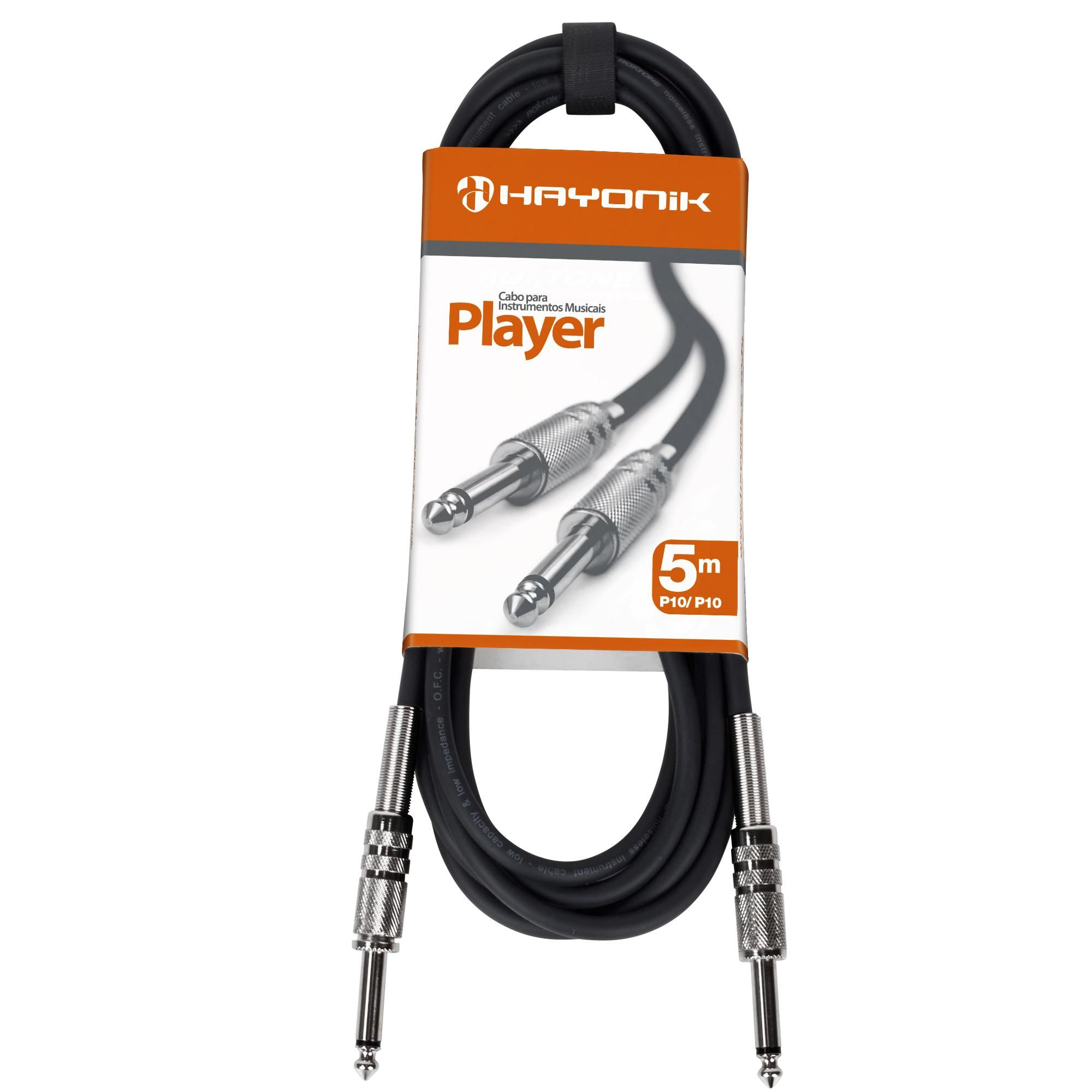 Cabo Hayonik Player P10 P10 5Mts