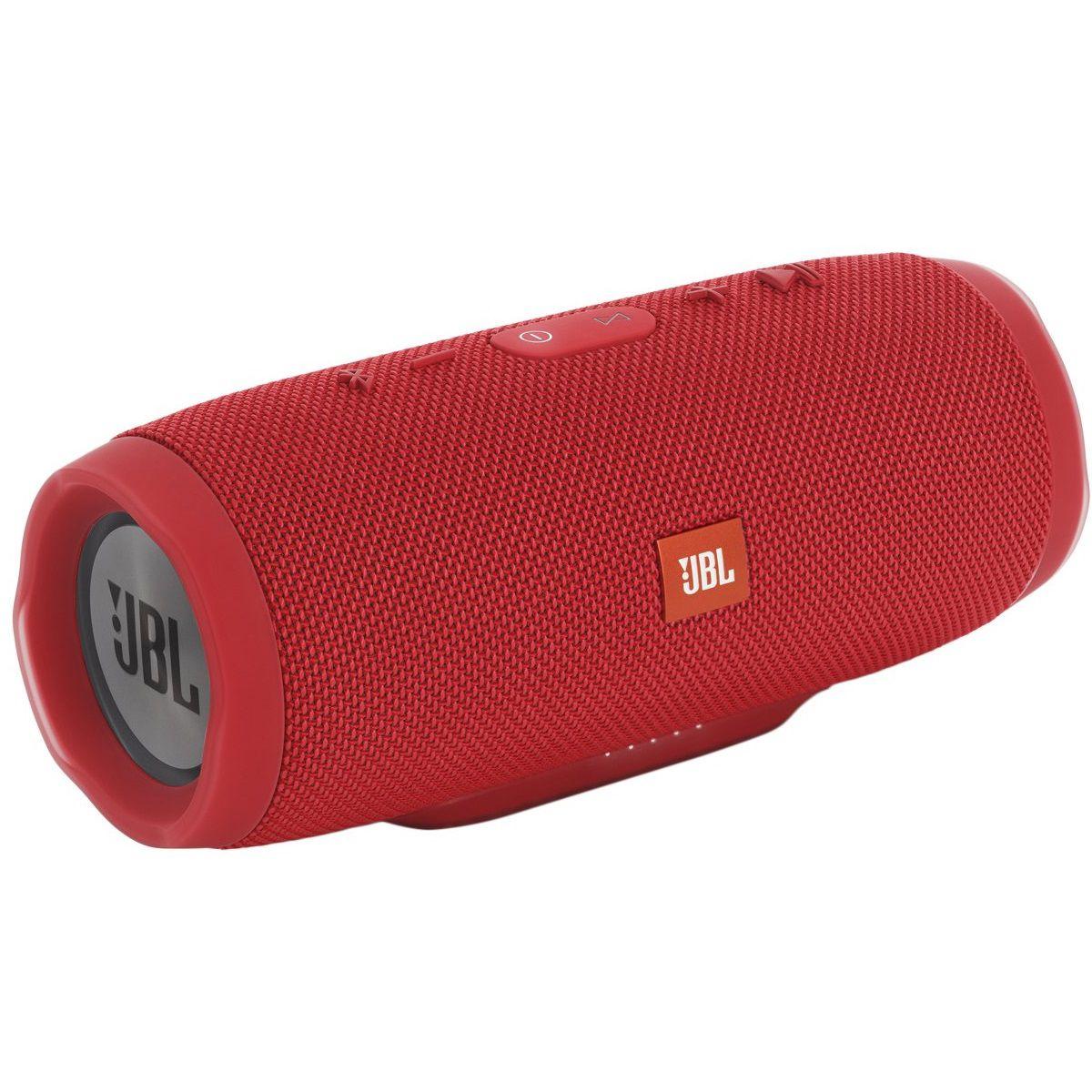 Caixa De Som Jbl Charge 3 Red Portatil Bluetooth
