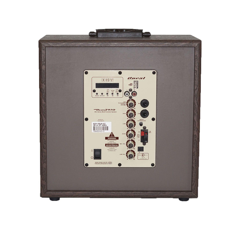 Caixa De Som Multiuso Com Bateria Ocm2910B 60W Rms