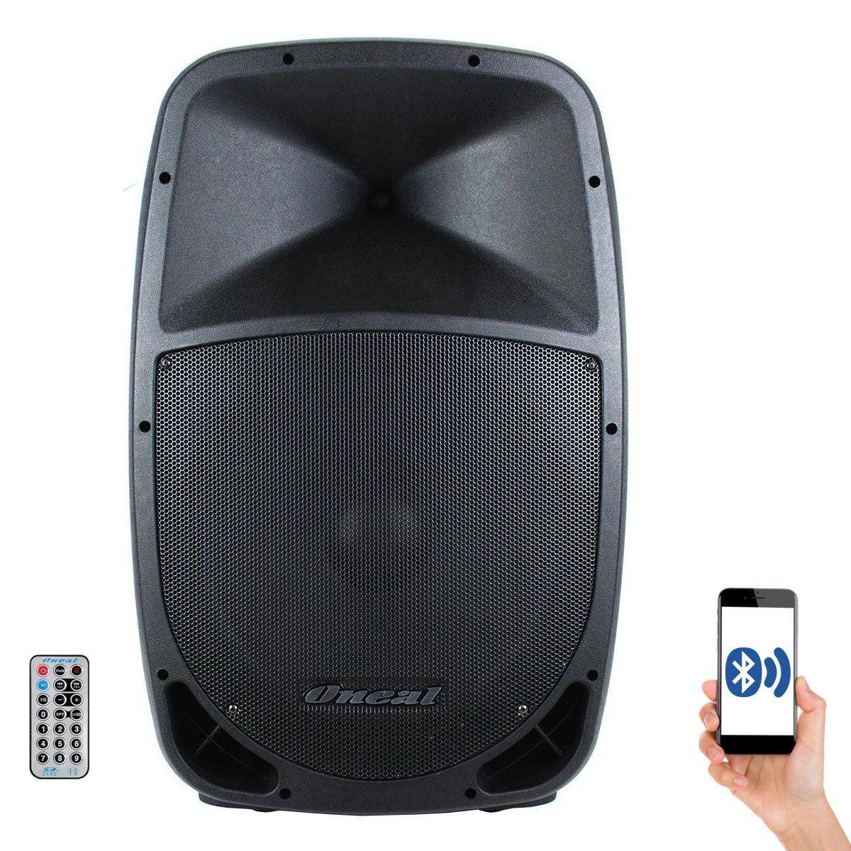Caixa Oneal Ativa Opb1112 Pt Bluetooth 200W