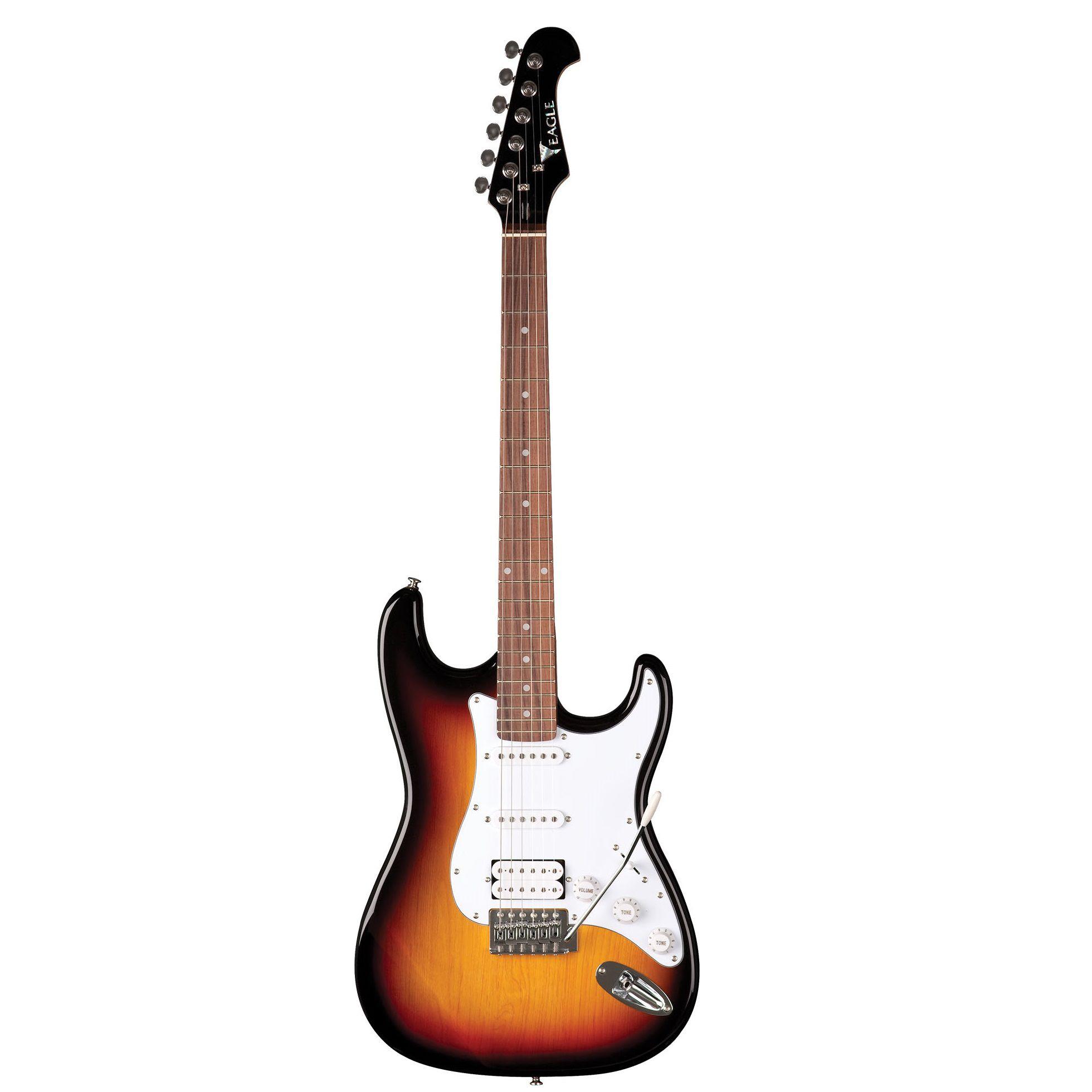 Guitarra Eagle Strato Sts002 Sb