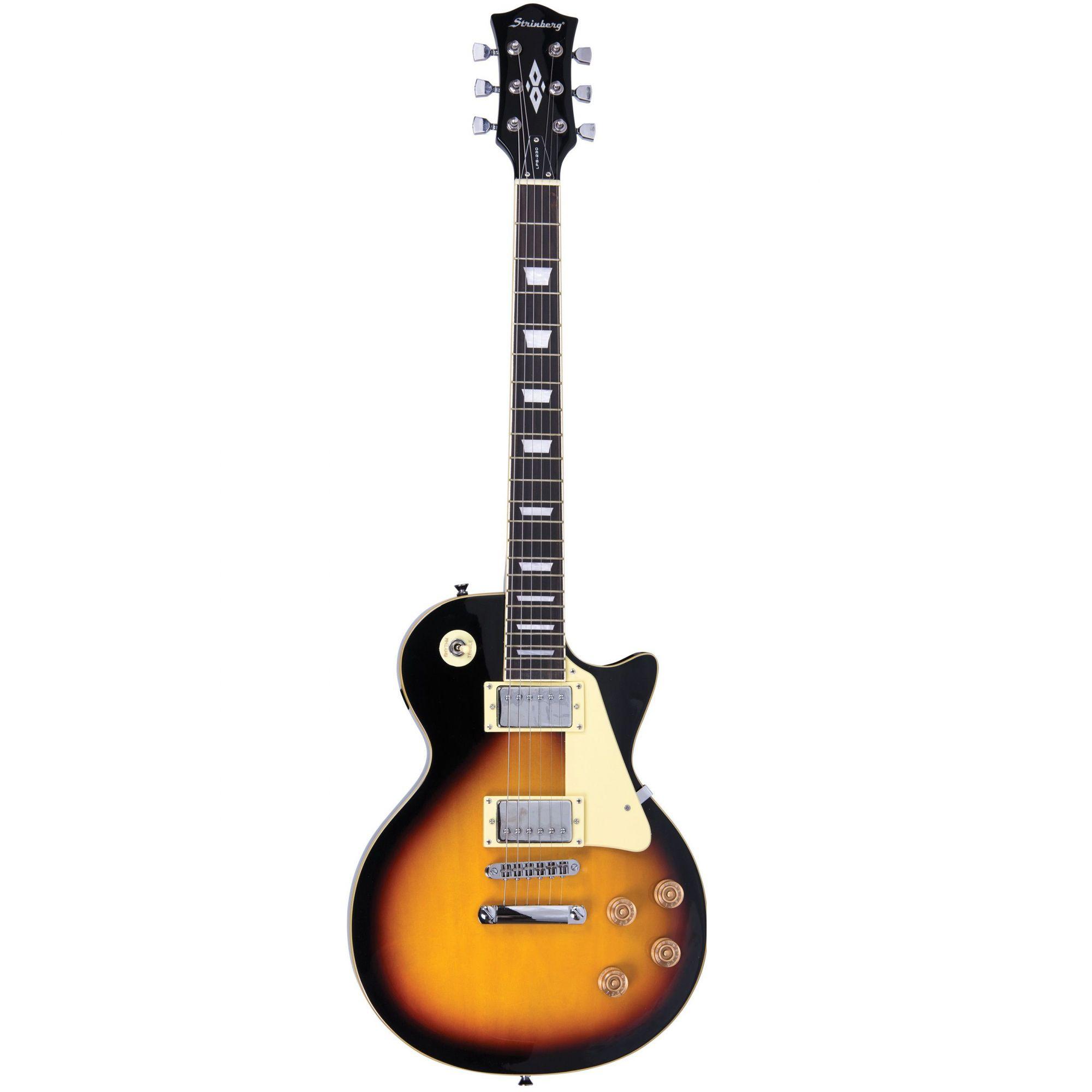 Guitarra Strinberg Les Paul Lps230 Sb Sunburst