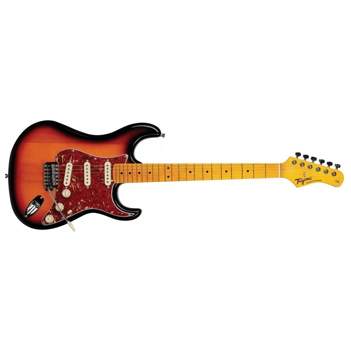 Guitarra Tagima Stratocaster Woodstock Tg530 Sb Sunburst