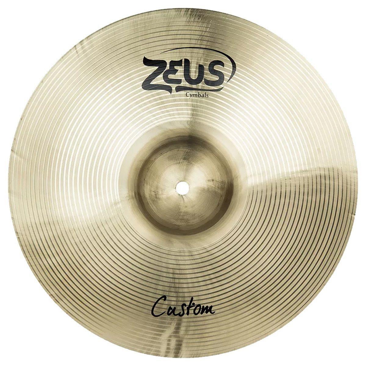 Kit De Pratos Zeus B20 Custom Set C 14 16 20 Com Bag